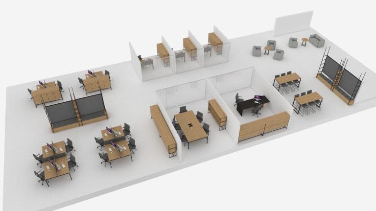 Mobilier de bureau Turku™ Atepaa®
