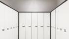 Les armoires de vestiaire