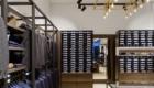 Magasin de vêtements design de meubles