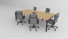 Table de conférence pour le bureau